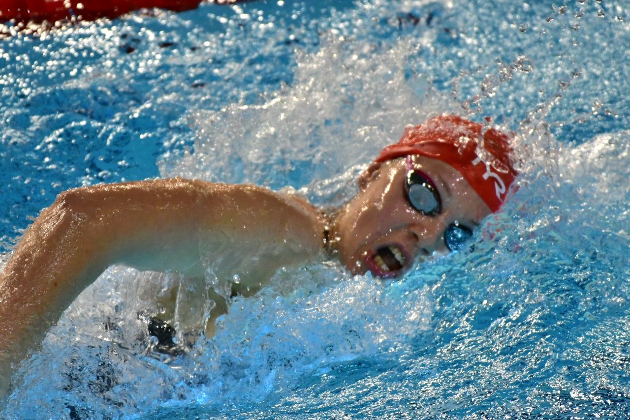 Julie sur 400m nage libre