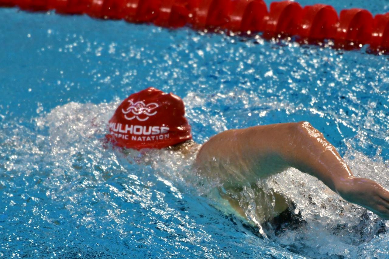 nageur en action